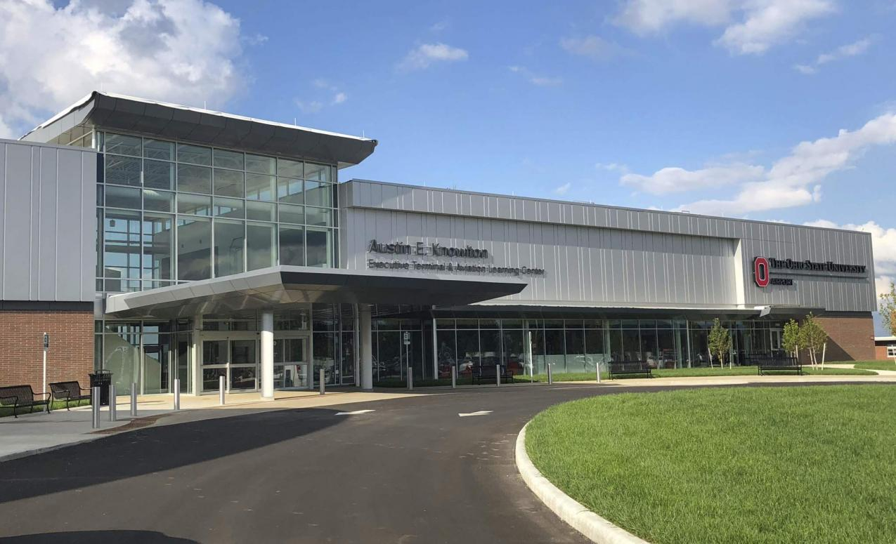 Exterior view of The Ohio State University Airport