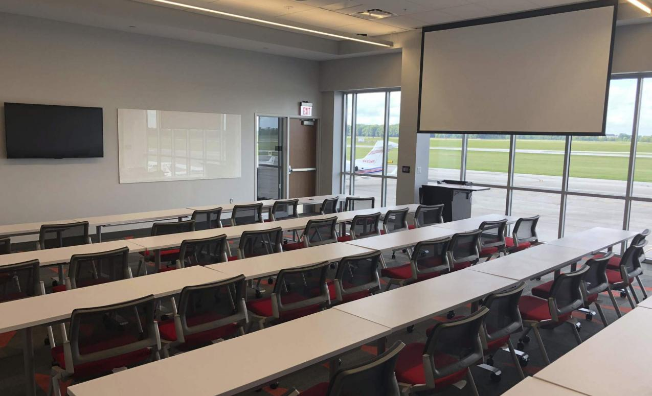 Classroom at The Ohio State University Airport