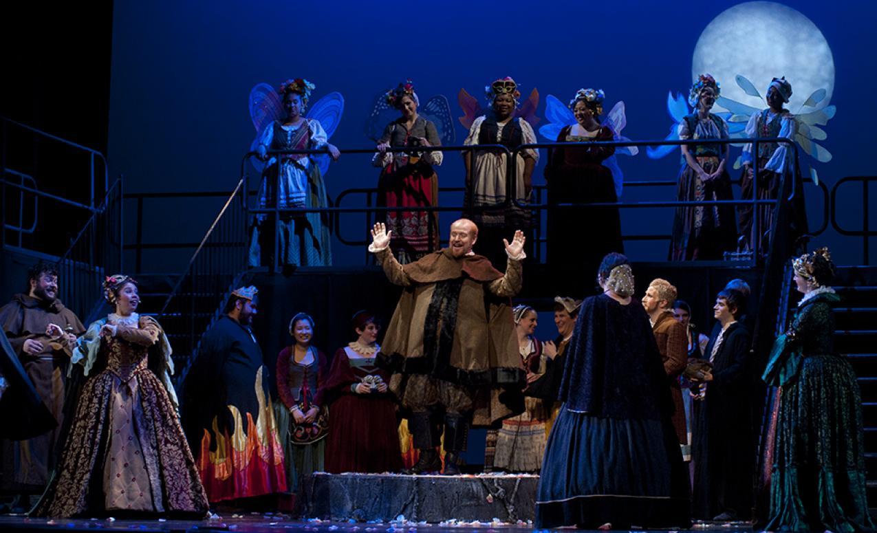 Performance in Mershon Auditorium