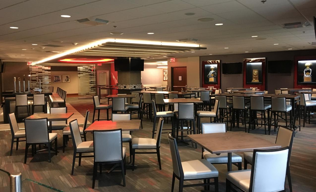 Meeting area at the Schottenstein Center, Value City Arena