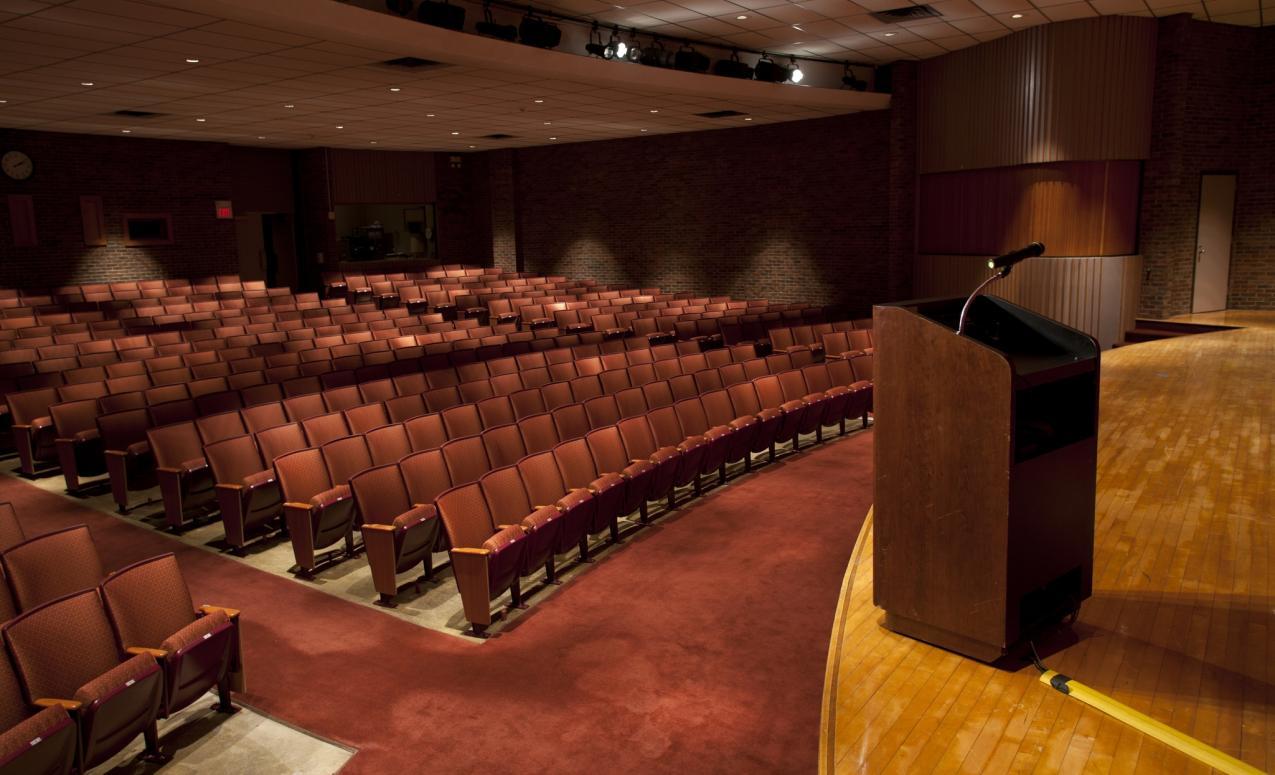 Image of the Fawcett Center Auditorium
