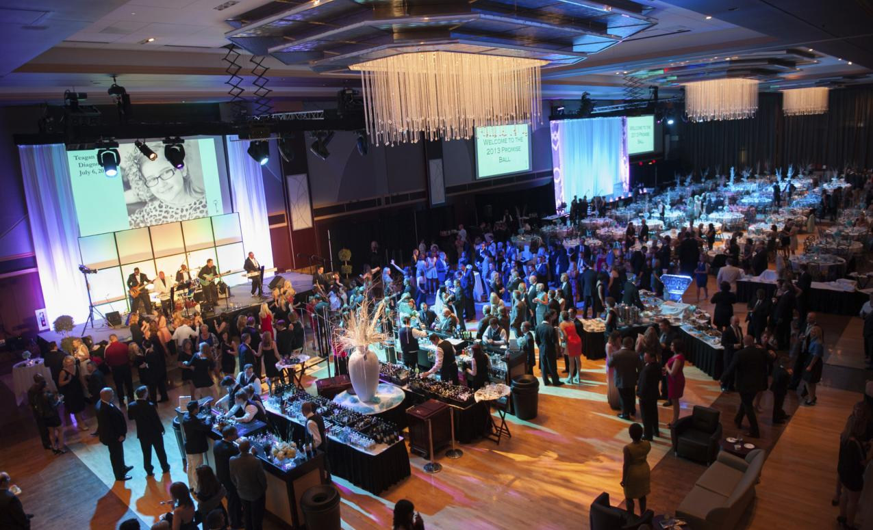 Gala special event in the Archie M. Griffin Grand Ballroom - 17, 539 sq. ft.