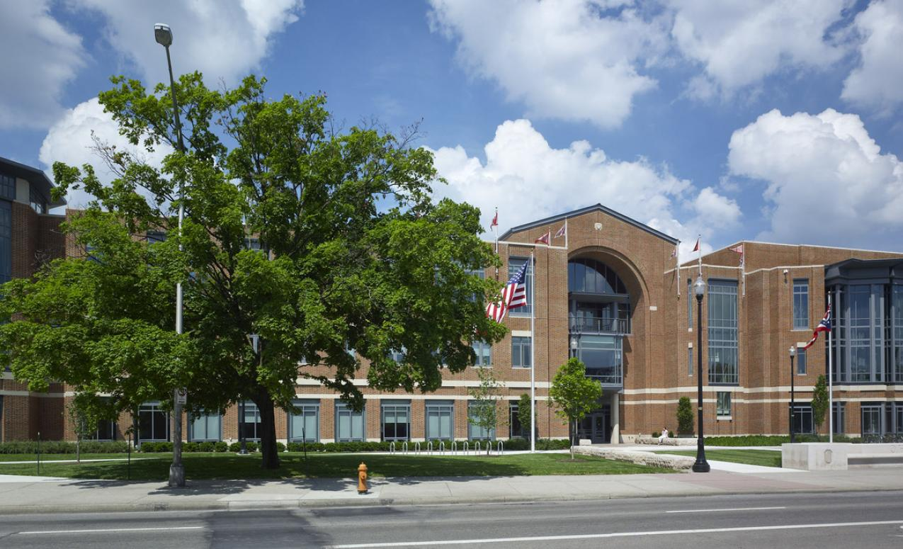 Ohio Union Building with 85,000 sqare feet for rent for large conferences and events