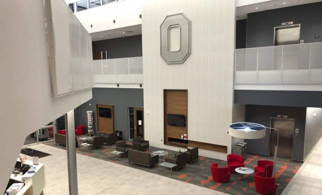 Room at The Ohio State University airport